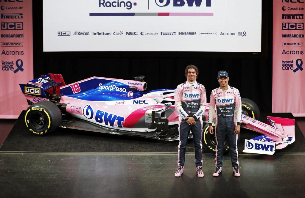 Acuerdo JCB Fórmula Uno